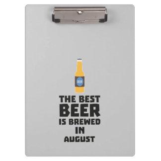 Best Beer is brewed in August Zw06j Clipboard
