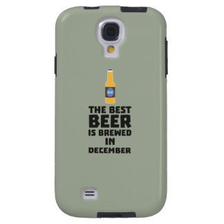 Best Beer is brewed in December Zfq4u Galaxy S4 Case
