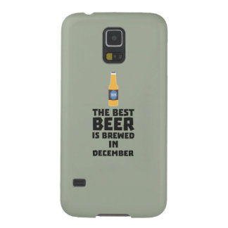 Best Beer is brewed in December Zfq4u Galaxy S5 Cover