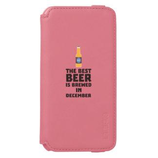 Best Beer is brewed in December Zfq4u Incipio Watson™ iPhone 6 Wallet Case