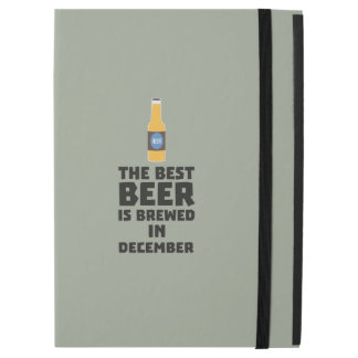 "Best Beer is brewed in December Zfq4u iPad Pro 12.9"" Case"