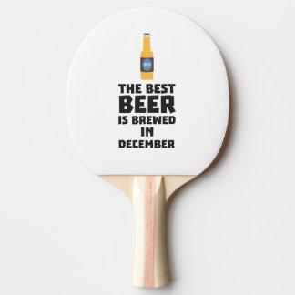 Best Beer is brewed in December Zfq4u Ping Pong Paddle