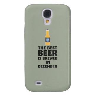 Best Beer is brewed in December Zfq4u Samsung Galaxy S4 Case