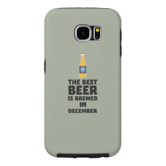 Best Beer is brewed in December Zfq4u Samsung Galaxy S6 Cases