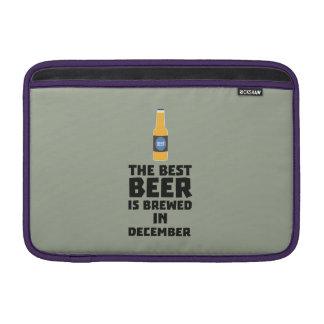 Best Beer is brewed in December Zfq4u Sleeve For MacBook Air
