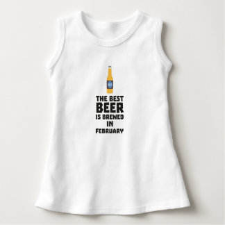Best Beer is brewed in February Z4i8g Dress