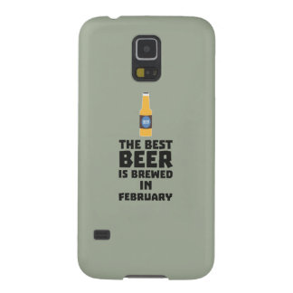 Best Beer is brewed in February Z4i8g Galaxy S5 Case