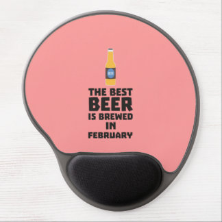 Best Beer is brewed in February Z4i8g Gel Mouse Pad