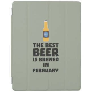 Best Beer is brewed in February Z4i8g iPad Cover