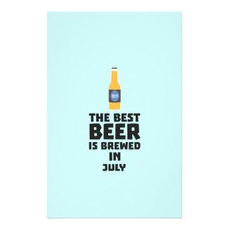 Best Beer is brewed in July Z4kf3 14 Cm X 21.5 Cm Flyer