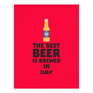 Best Beer is brewed in July Z4kf3 21.5 Cm X 28 Cm Flyer