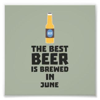 Best Beer is brewed in June Z1u77 Photographic Print