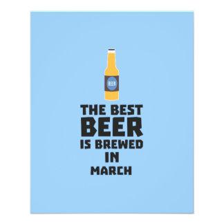 Best Beer is brewed in March Zp9fl 11.5 Cm X 14 Cm Flyer