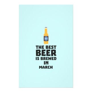 Best Beer is brewed in March Zp9fl 14 Cm X 21.5 Cm Flyer