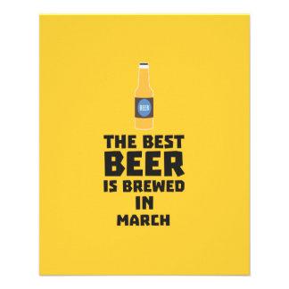 Best Beer is brewed in March Zp9fl Flyer