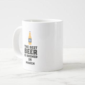Best Beer is brewed in March Zp9fl Large Coffee Mug