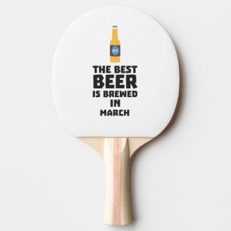 Best Beer is brewed in March Zp9fl Ping Pong Paddle