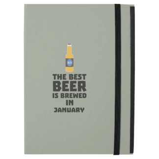 "Best Beer is brewed in May Z96o7 iPad Pro 12.9"" Case"