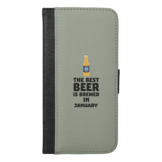 Best Beer is brewed in May Z96o7 iPhone 6/6s Plus Wallet Case
