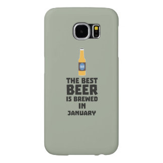 Best Beer is brewed in May Z96o7 Samsung Galaxy S6 Cases