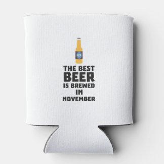 Best Beer is brewed in November Zk446 Can Cooler