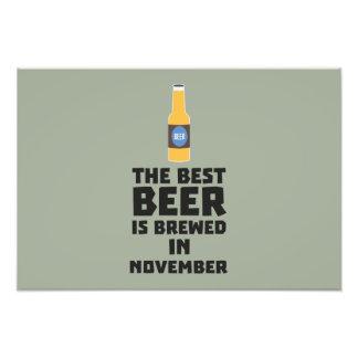 Best Beer is brewed in November Zk446 Photograph