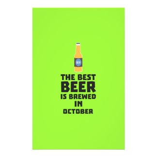 Best Beer is brewed in October Z5k5z 14 Cm X 21.5 Cm Flyer