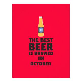 Best Beer is brewed in October Z5k5z 21.5 Cm X 28 Cm Flyer