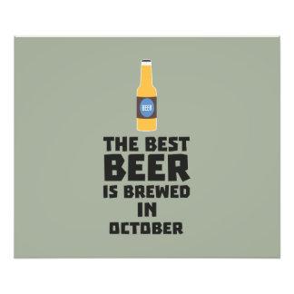 Best Beer is brewed in October Z5k5z Photo