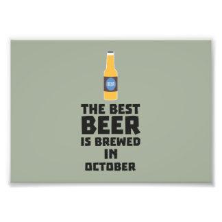 Best Beer is brewed in October Z5k5z Photographic Print