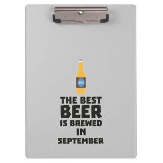 Best Beer is brewed in September Z40jz Clipboard