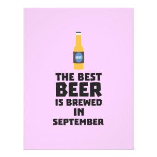 Best Beer is brewed in September Z40jz Flyer