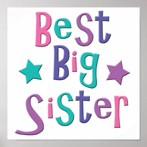 Best Big Sister Poster