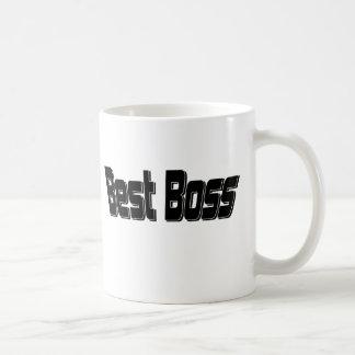 Best Boss Basic White Mug