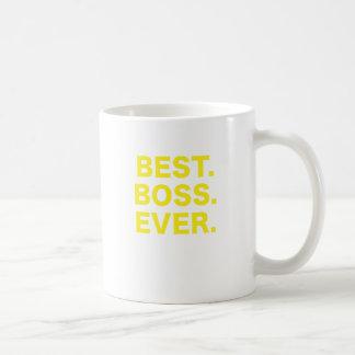 Best Boss Ever Basic White Mug