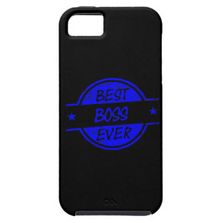 Best Boss Ever Blue iPhone 5 Covers