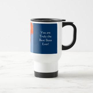 Best Boss Ever! Coffee Travel Mug Office gifts
