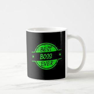 Best Boss Ever Green Mug