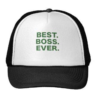 Best Boss Ever Hats