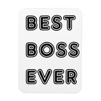 Best Boss Ever Flexible Magnet