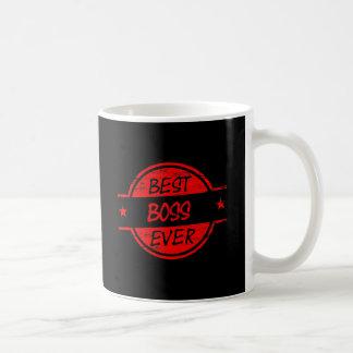 Best Boss Ever Red Mugs
