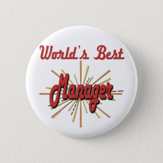 Best Boss Gifts 6 Cm Round Badge