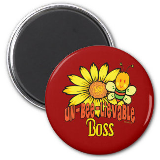 Best Boss Gifts 6 Cm Round Magnet