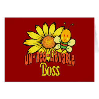 Best Boss Gifts Greeting Cards