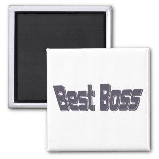 Best Boss Square Magnet