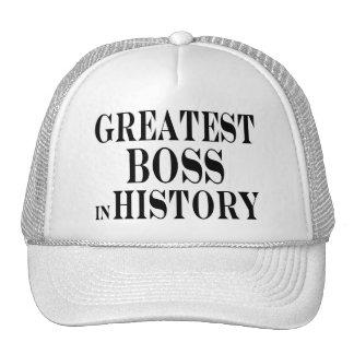 Best Bosses : Greatest Boss in History Hat
