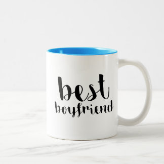 Best Boyfriend Two-Tone Coffee Mug