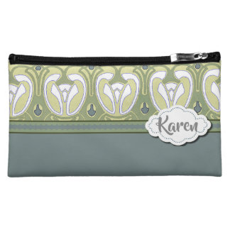 Best Bridesmaid's Gift in Blue Cosmetic Bag