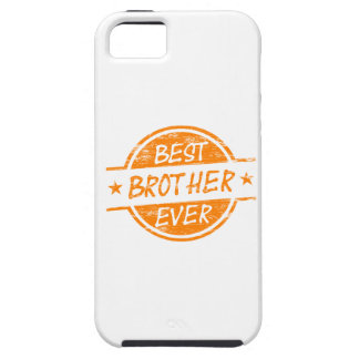 Best Brother Ever Orange iPhone 5 Cover