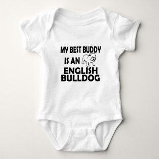 best buddy english bulldog casual apparel baby bodysuit